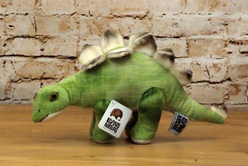 Living Nature Plush Stegosaurus Toy