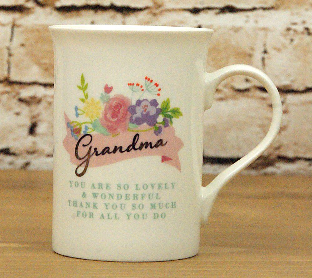 Grandma, you are so special' Boxed Mug