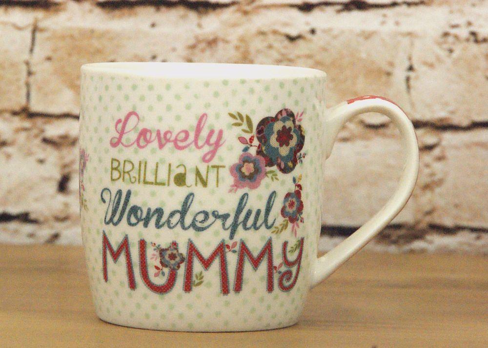 'Lovely Mummy' Boxed Mug