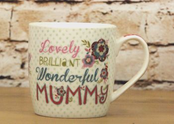 'Lovely Mummy' Boxed Mug