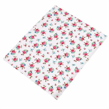 Ditsy Rose Print Microfibre Cleaning Cloth