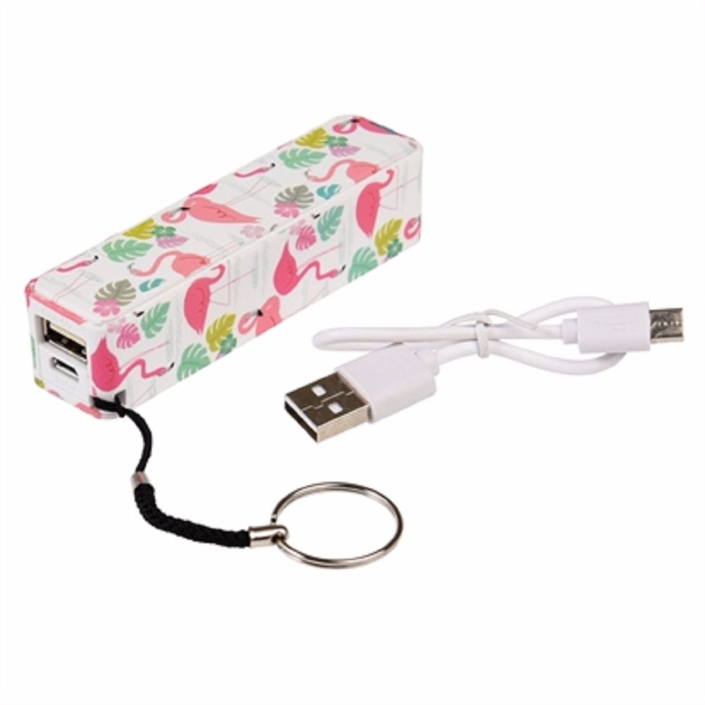 Flamingo Portable USB Charger