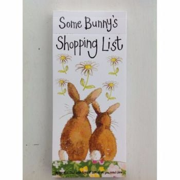 Alex Clarke Bunny Magnetic List Notepad