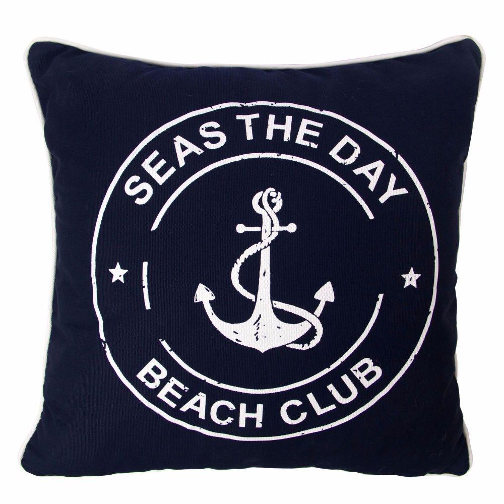 'Seas the Day' Anchor Cushion