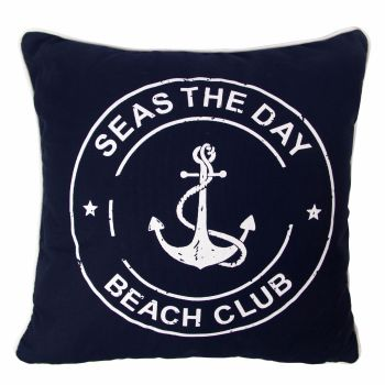 'Seas the Day' Anchor Cushion