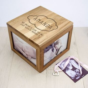 Baby Oak Keepsake Box