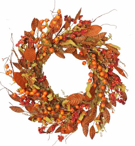 Autumnal Large Berry and Foliage Wreath