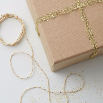 Ginger Ray Gold Mini Tinsel and Twine Set
