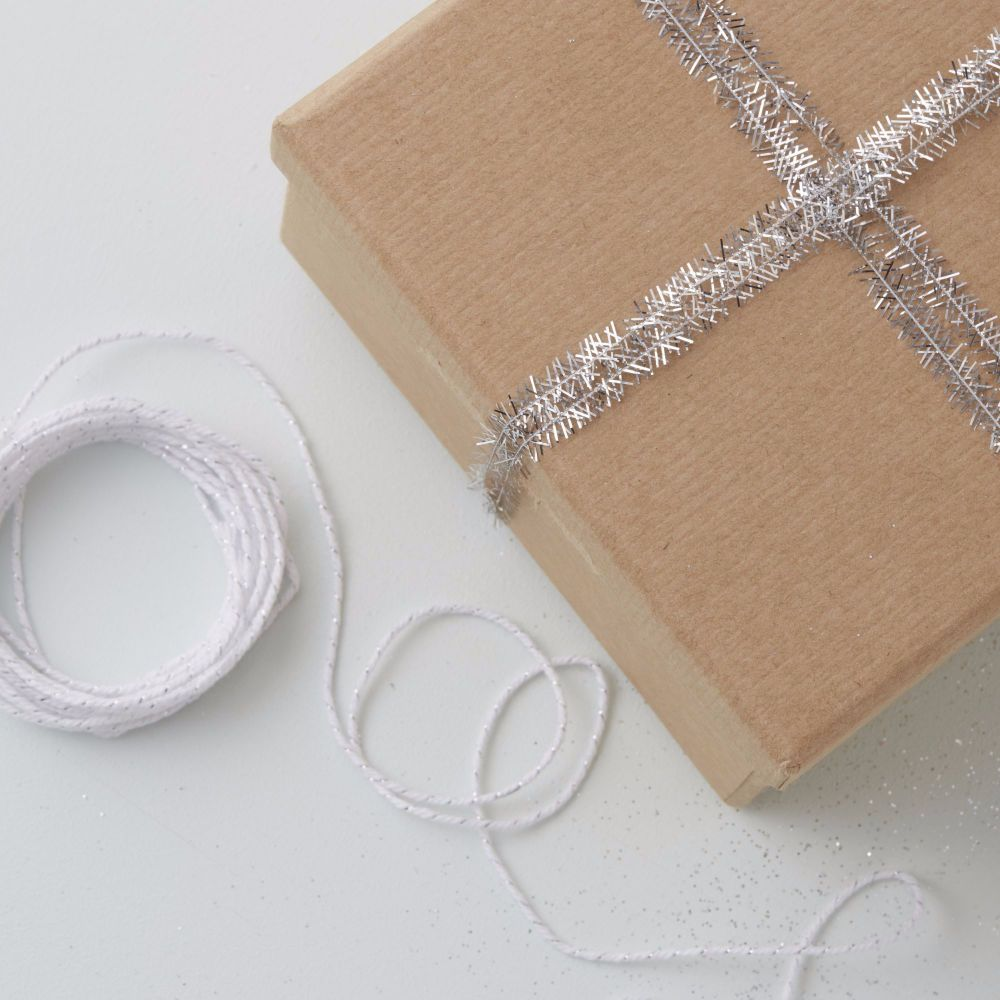 Ginger Ray Silver Mini Tinsel and Twine Kit
