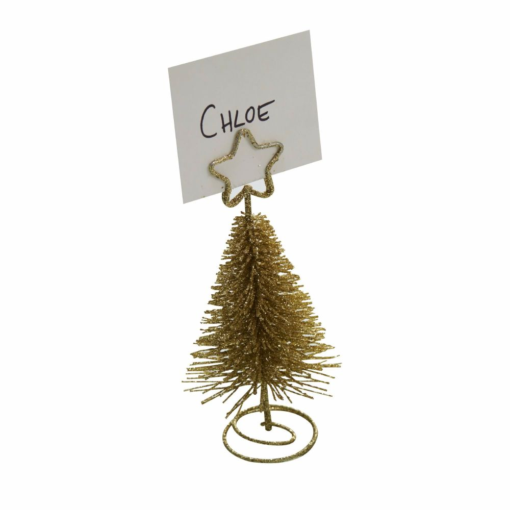 Ginger Ray Gold Tree Shaped Place Card Holders
