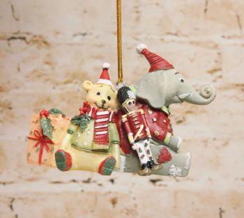 Gisela Graham Resin Hanging Toy Decoration