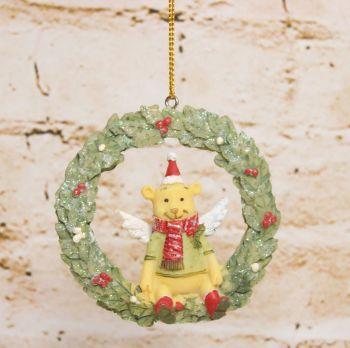 Gisela Graham Resin Toy Box Wreath Decoration - 4 Assorted