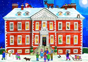 Alison Gardiner Country House Christmas Advent Calendar