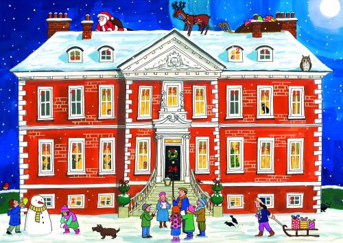 Alison Gardner Country House Christmas Advent Calendar