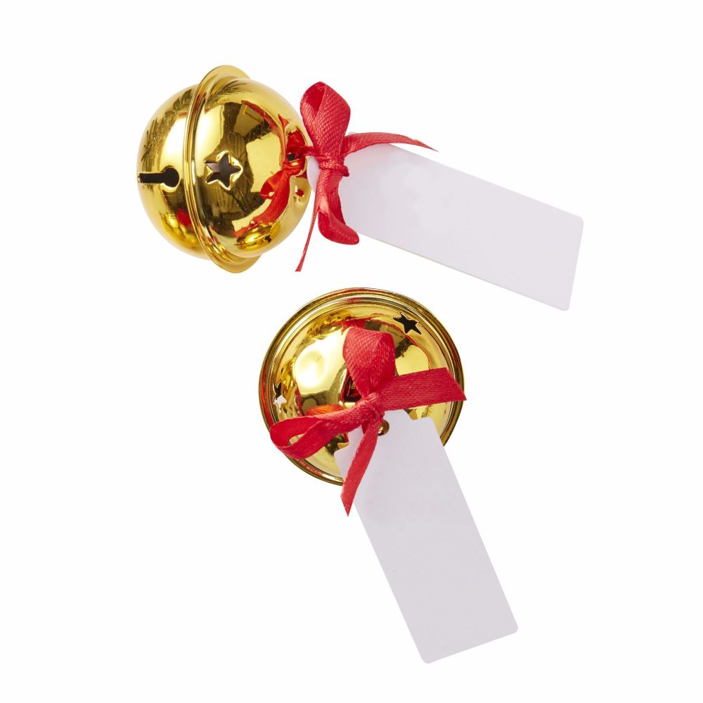 Ginger Ray Gold Bell Place Card Holders - Set of 6