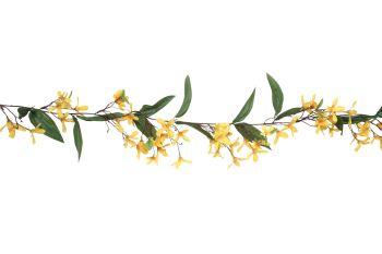 Yellow Forsythia Garland
