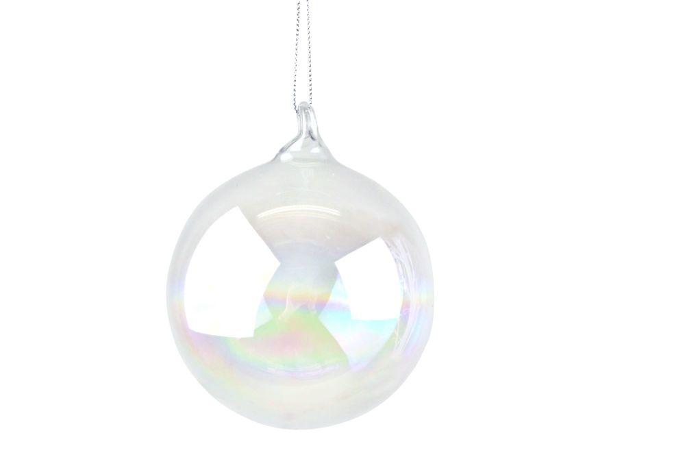 Clear Soap Bubble Bauble - Large