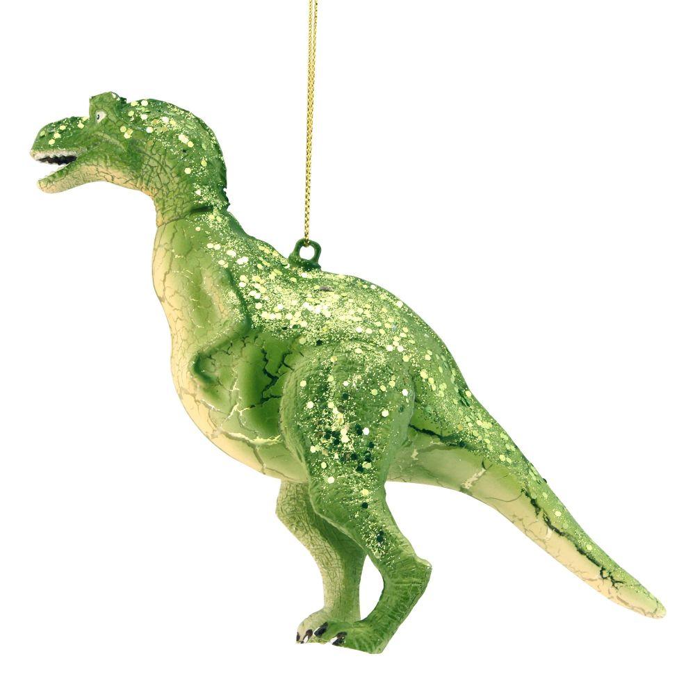 Glass Dinosaur Decoration
