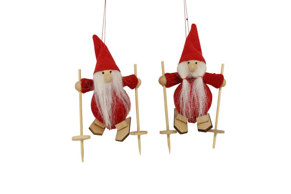 Scandi Santa on Skis