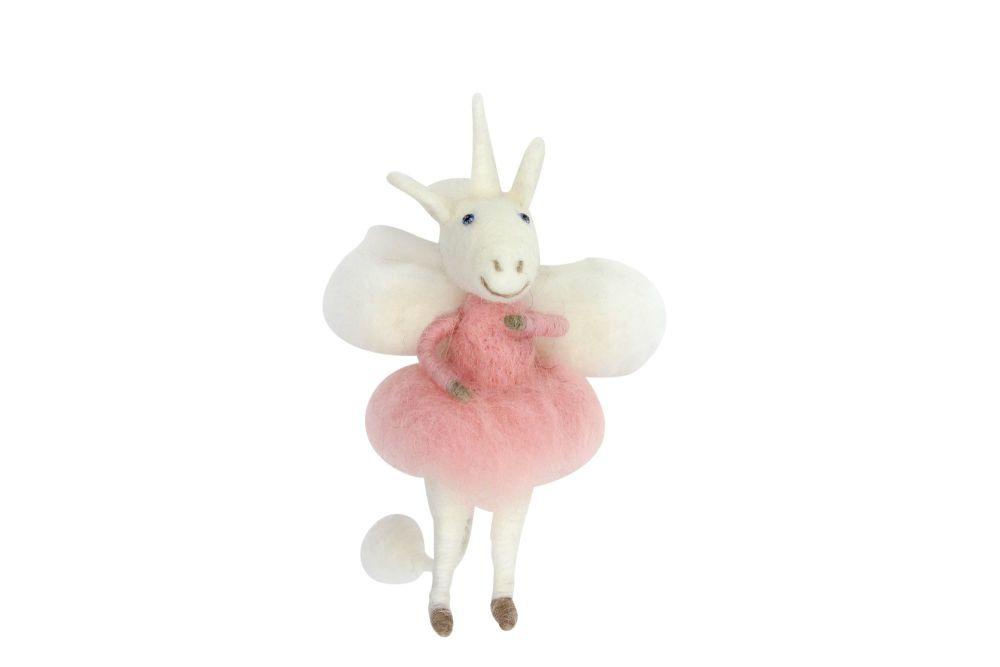 Woolen Unicorn Fairy Decoration