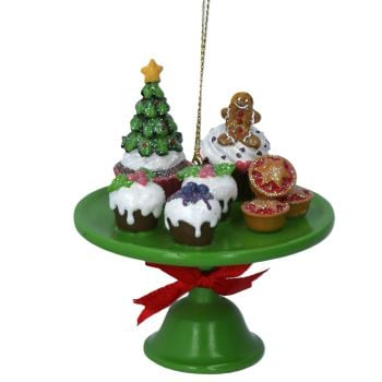 Gisela Graham Resin Cake Table Decoration