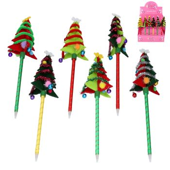 Felt Christmas Tree Pen