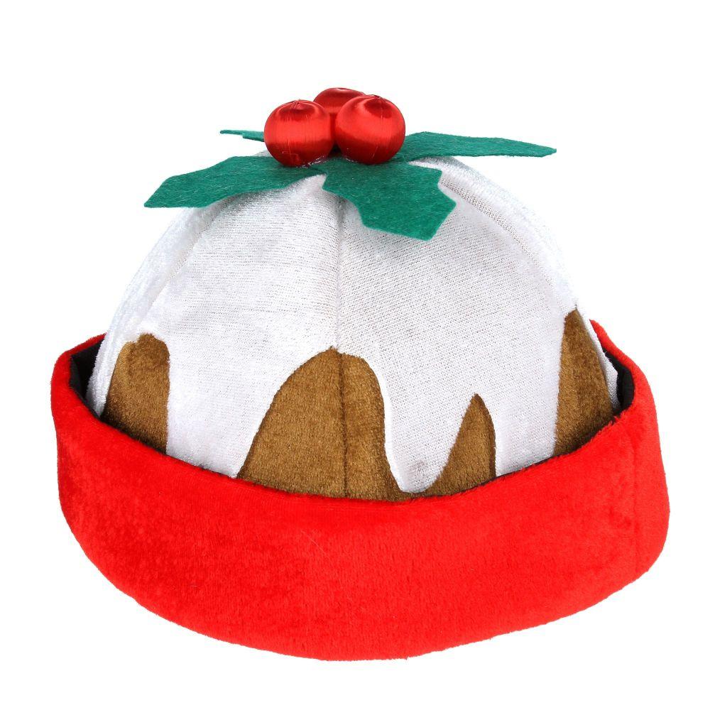 Gisela Graham Felt Christmas Pudding Hat