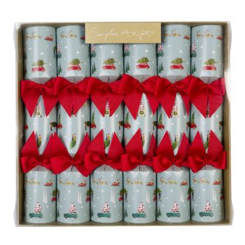 Sophie Allport 'Home for Christmas' Crackers - Box of 6