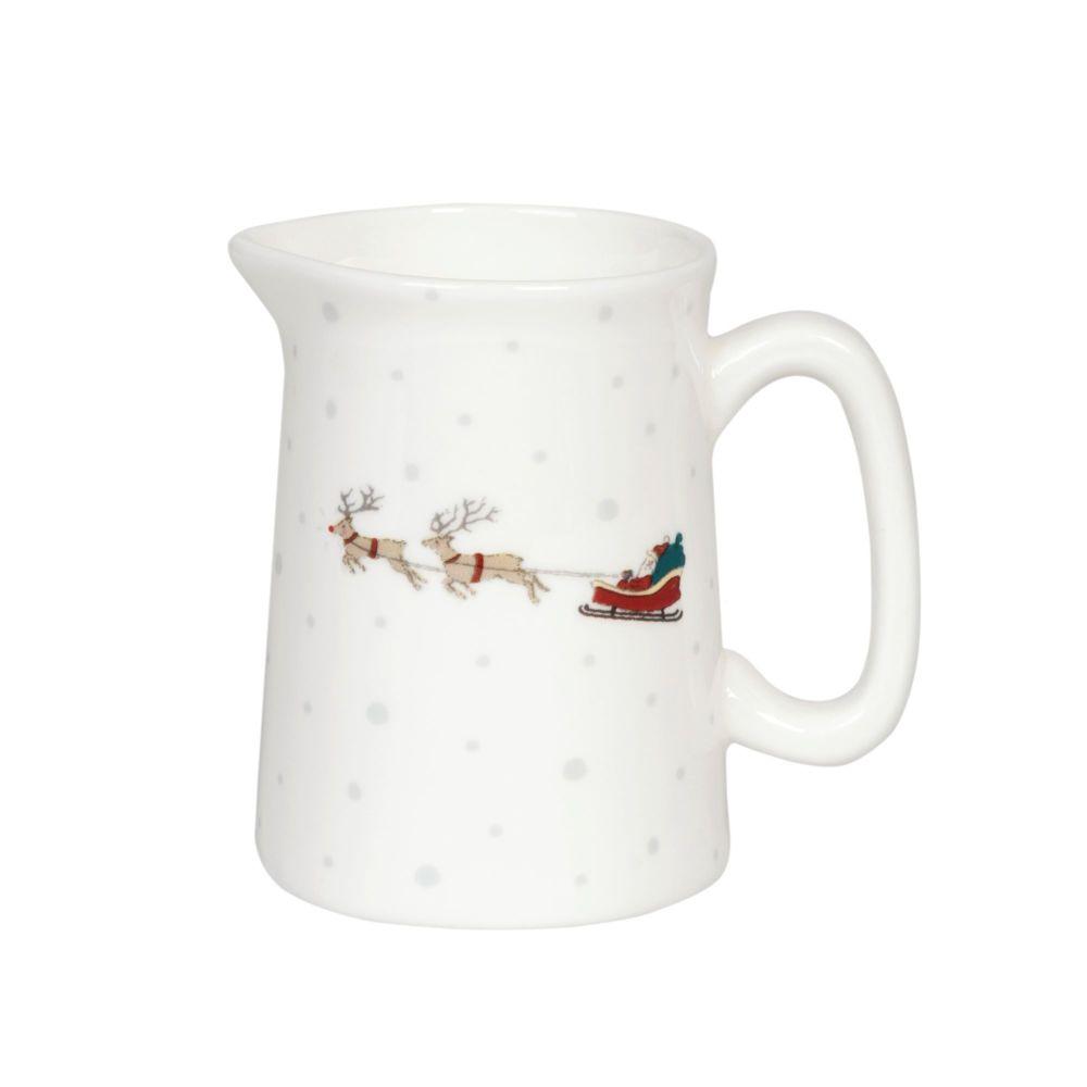 Sophie Allport 'Home for Christmas' Bone China Mini Jug