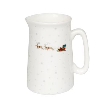 Sophie Allport 'Home for Christmas' Bone China Small Jug