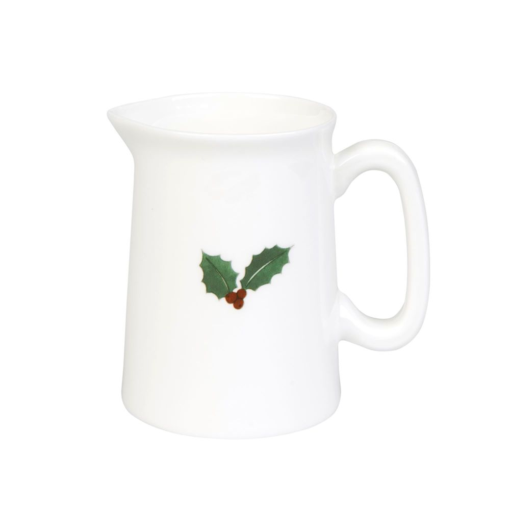 Sophie Allport Holly and Berry Bone China Mini Jug