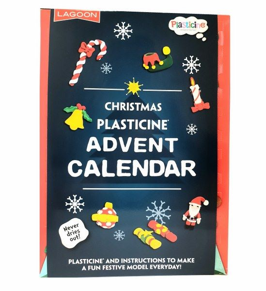 Plasticine Advent Calendar