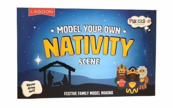 Plasticine 'Make your own Nativity' Set