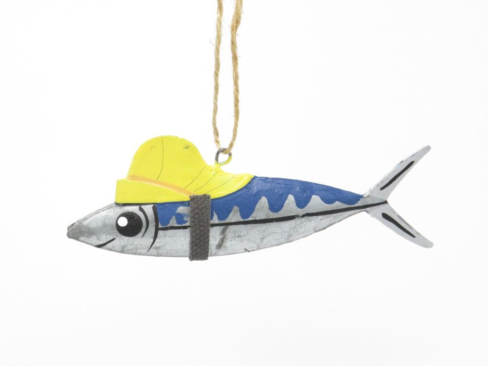 Southwester Sardine Hanging Decoration