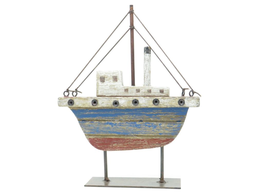 Gisela Graham Tugboat Ornament
