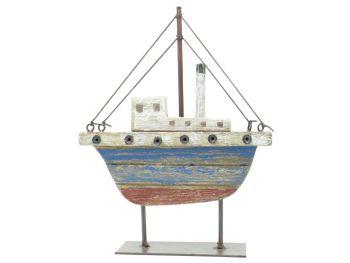 Gisela Graham Tugboat Ornament