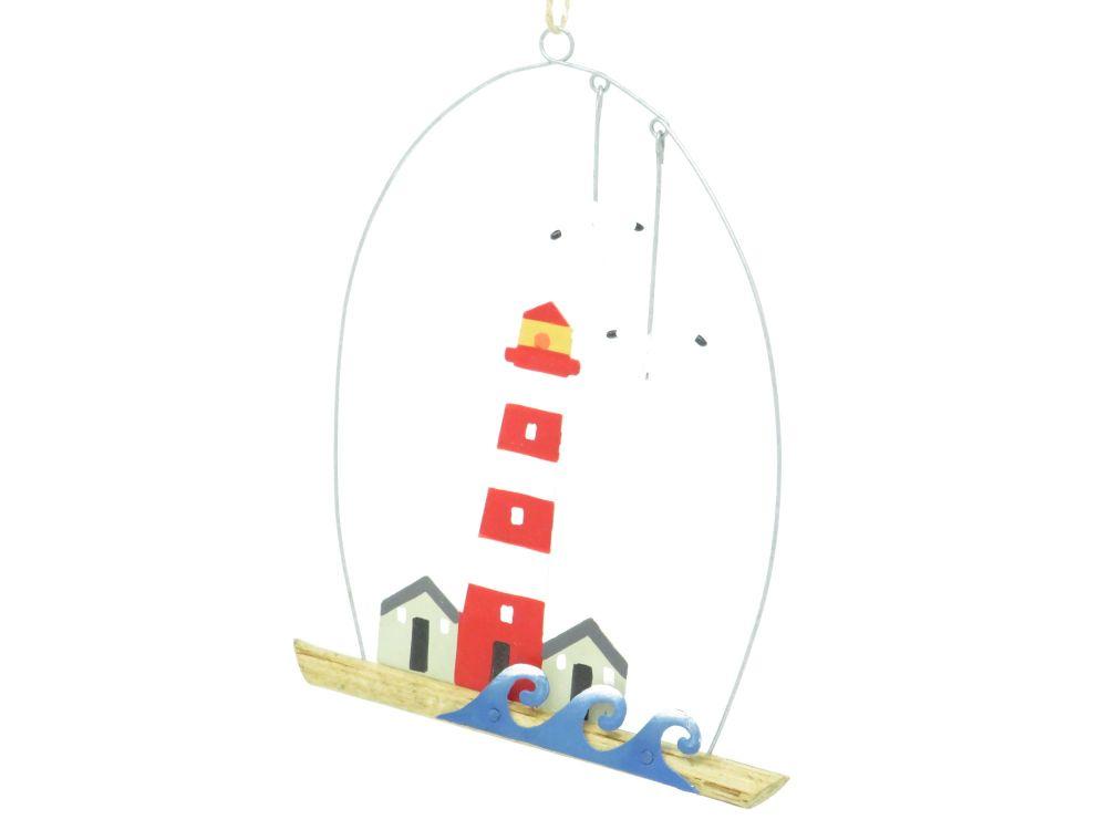 Lighthouse Scene Hanging Decoration