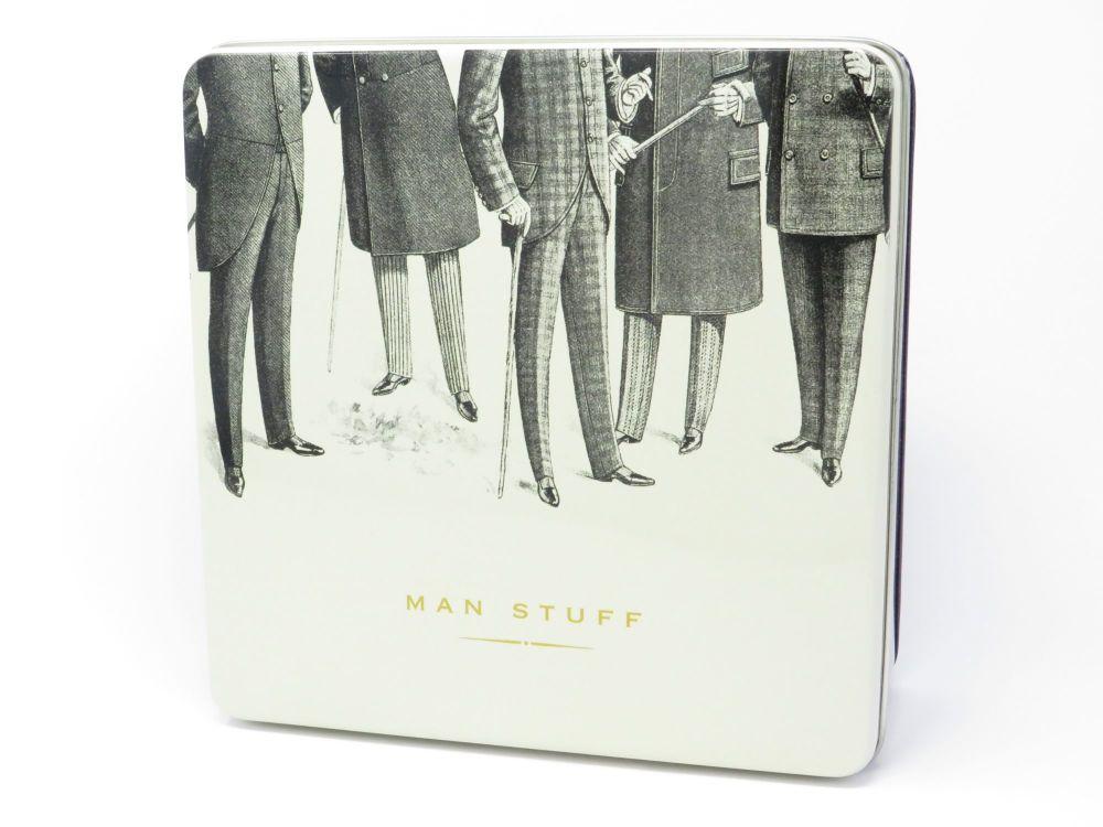'Man Stuff' Tin