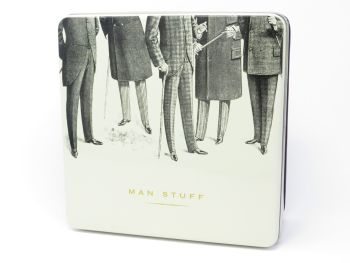'Man Stuff' Tin