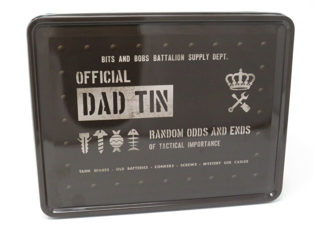 Military Style 'Official Dad Tin'