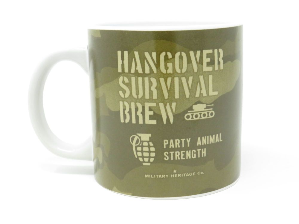 'Hangover Survival Brew' Large Mug