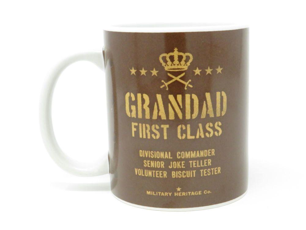 'First Class Grandad' Mug