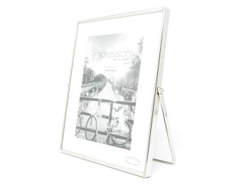 "Silver Plated Swivel Stand Photo Frame - 5"" x 7"""