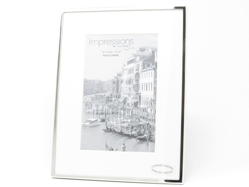 Silver Plated Stand Photo Frame - 4