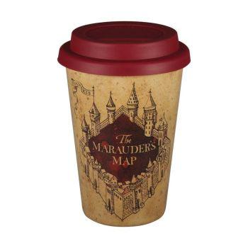 Harry Potter Husk Travel Cup - Marauders Map
