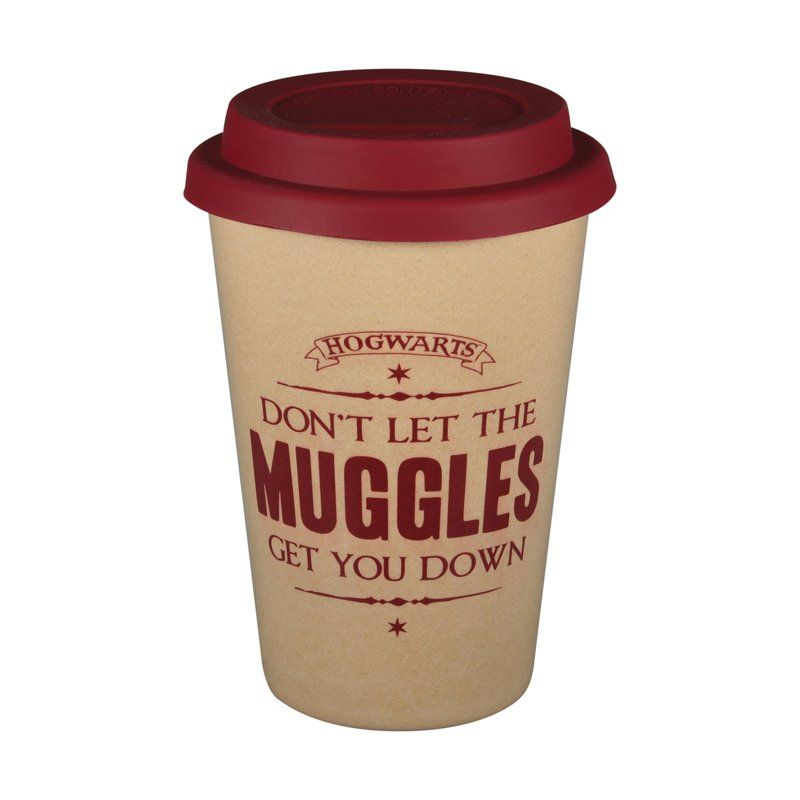 Harry Potter Bamboo Travel Cup - Don't Let the Muggles Get you Down