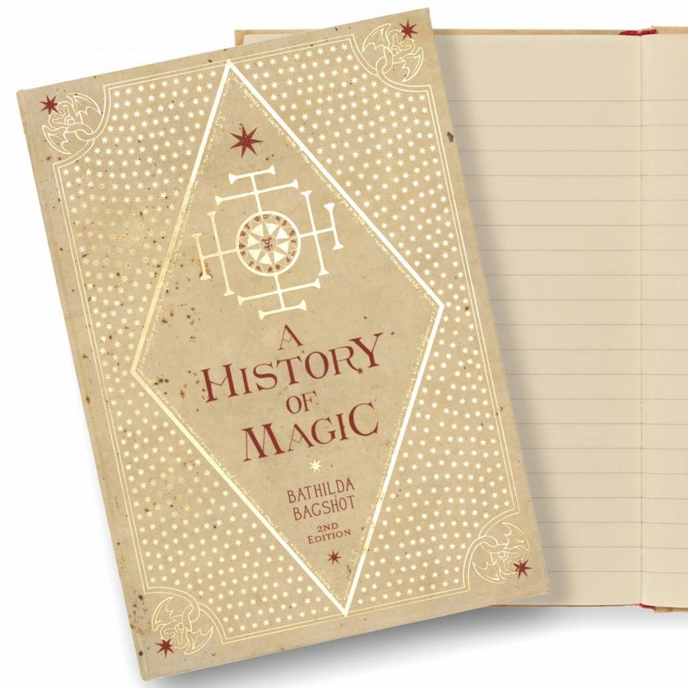 Minalima designed Harry Potter 'A History of Magic' Journal Notebook
