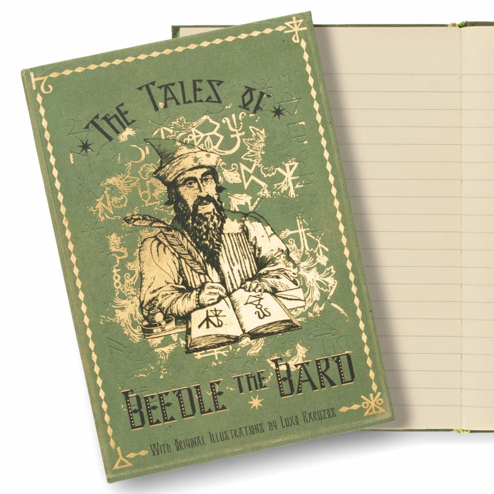 Minalima designed Harry Potter 'The Tale of Beedle the Bard' Journal Notebo
