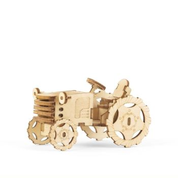3D Wooden Puzzle - Tractor