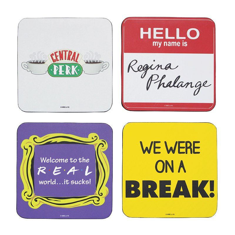 Friends - Pack of Four Coasters